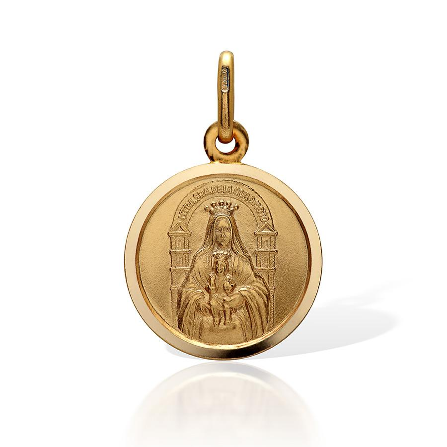 Lady of Coromoto Medal 10mm - VaskiaJewelry