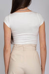 Naomi Square Neckline Top