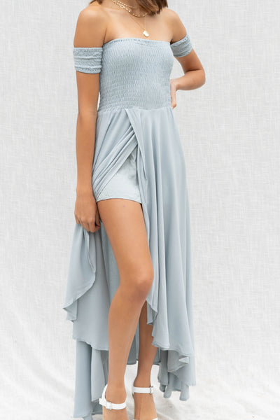 Belle Off Shoulder Maxi Dress