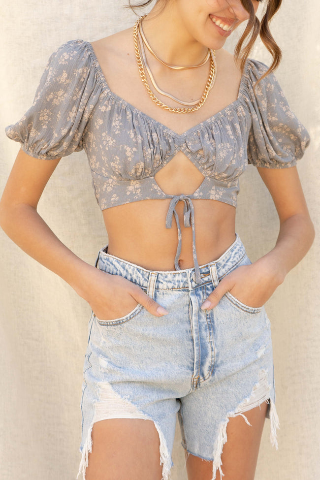 Molly Keyhole Crop Top