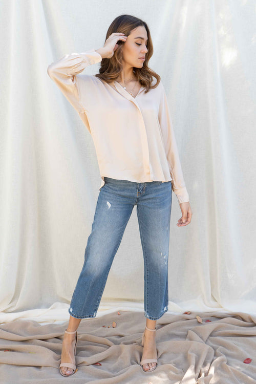 Savannah Long Sleeve Blouse