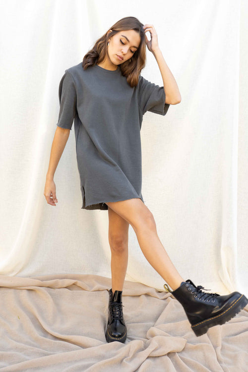 Gina Oversized Tshirt Dress