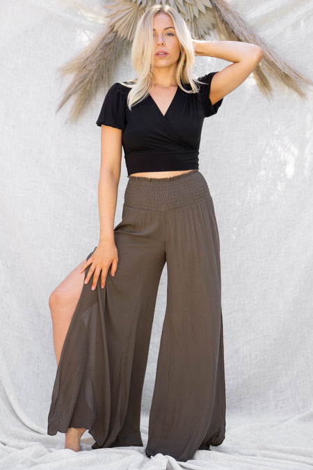 Jade High Waist Pants