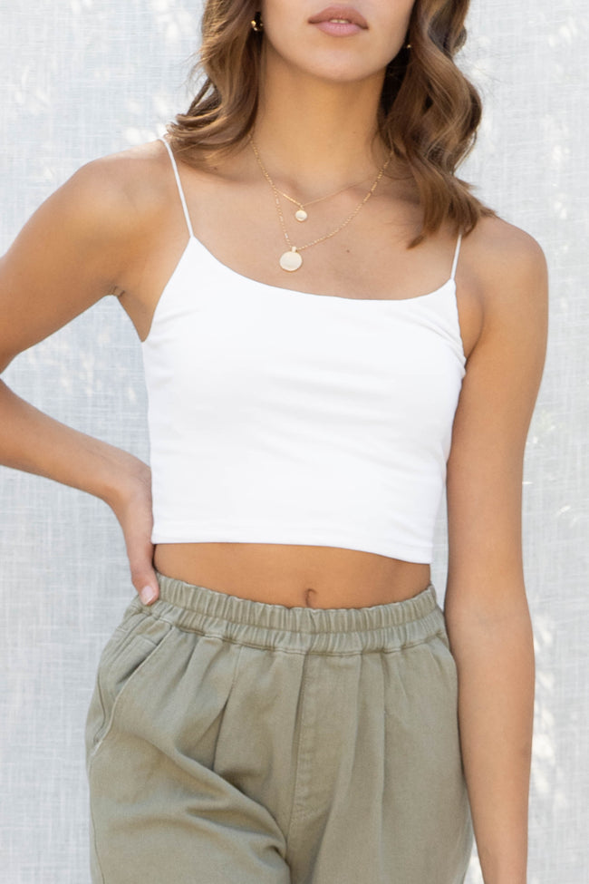 Jess Cami Crop Top