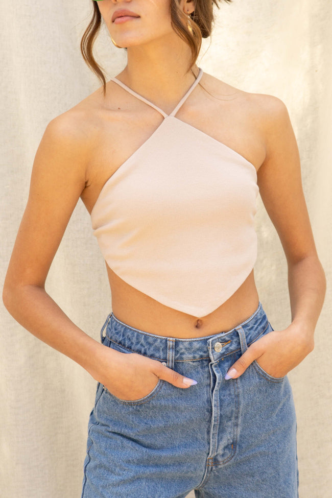 Diamond Shape Crop Top