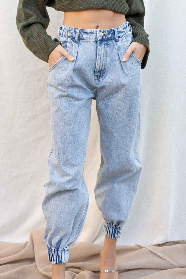 Leah Vintage Denim Pants