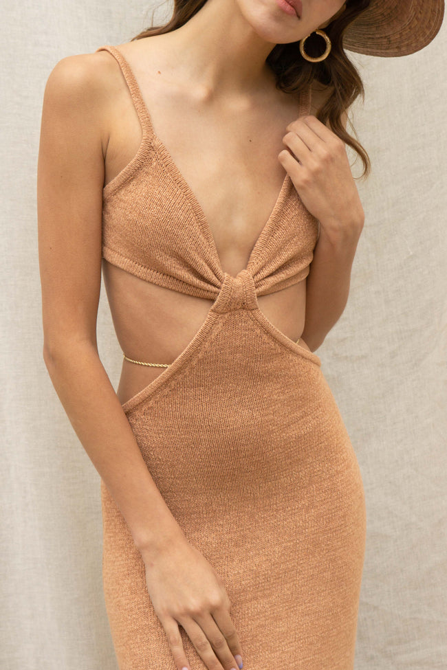 Ariana Cut Out Maxi Dress