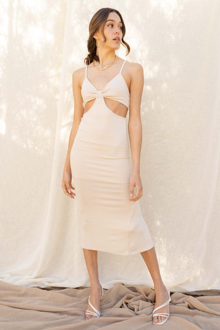 Diamond Beach Midi Dress