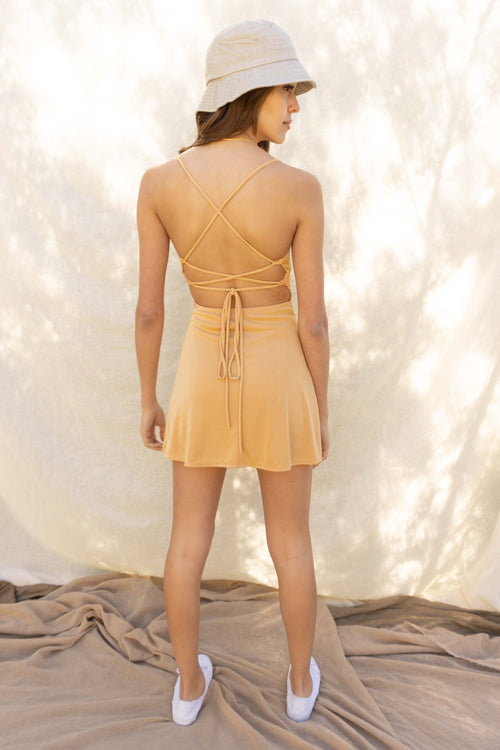 Celeste Backless Mini Dress