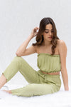 Melody Tube Top And Pants Set