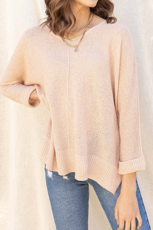 Kaitlyn Oversized Knit Top