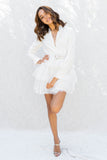 Carrie Tutu Long Sleeve Mini Dress
