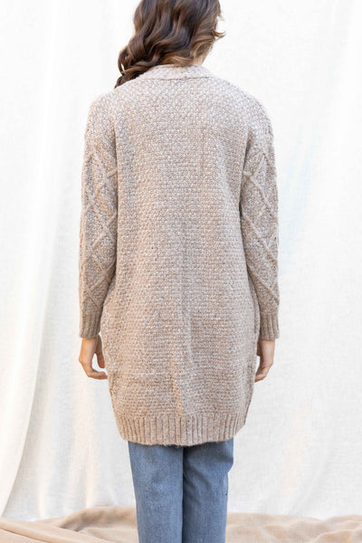 Tiffany Cable Knit Cardigan