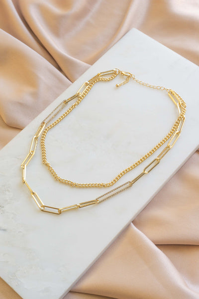 Remi Oval Chain Necklace