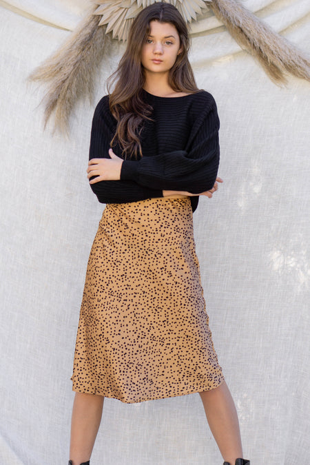 Melody Knit Midi Skirt
