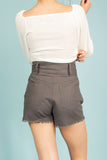 Sammie High Rise Safari Shorts