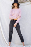 Katie Soft Ribbed Sweater