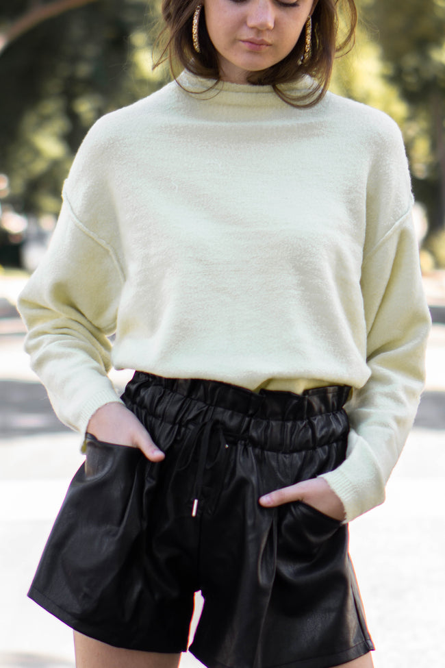 Camille Mock Neck Sweater