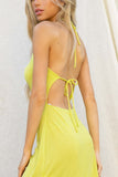 Mariah Open Back Mini Dress