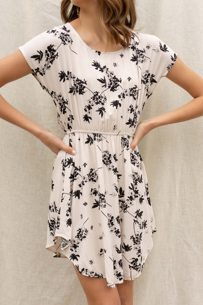 Gemma Floral Printed Dress