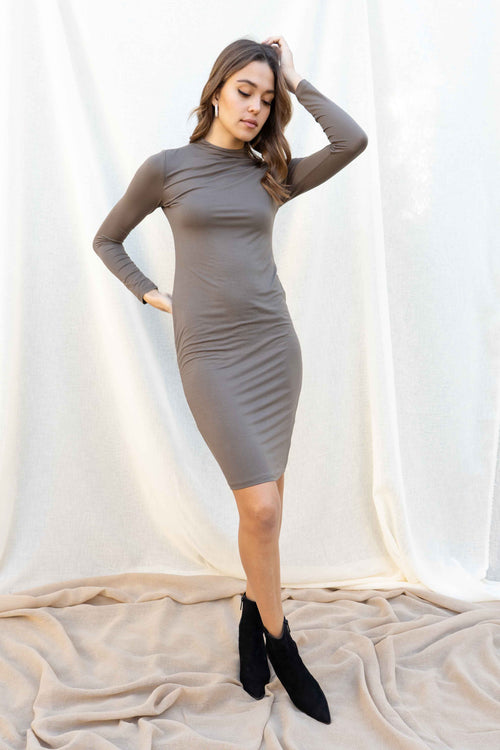 Camille Double Layered Bodycon Dress