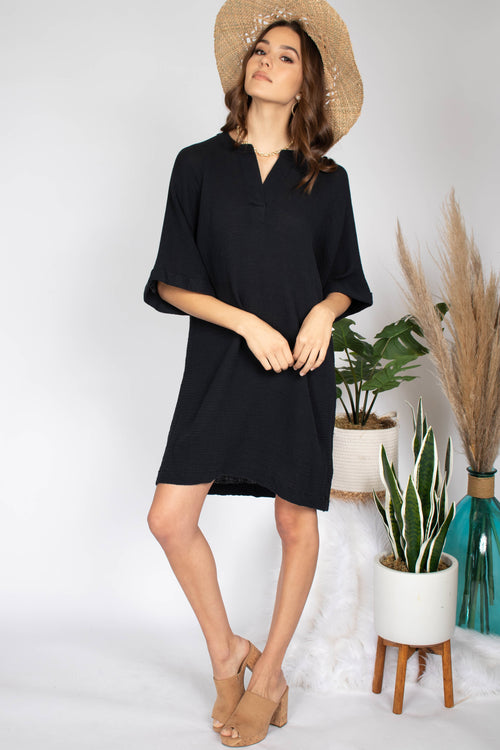 Carly Gauze Oversized Tunic