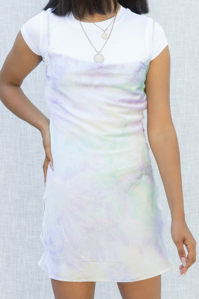 Dreamy Tie Dye Slip Dress