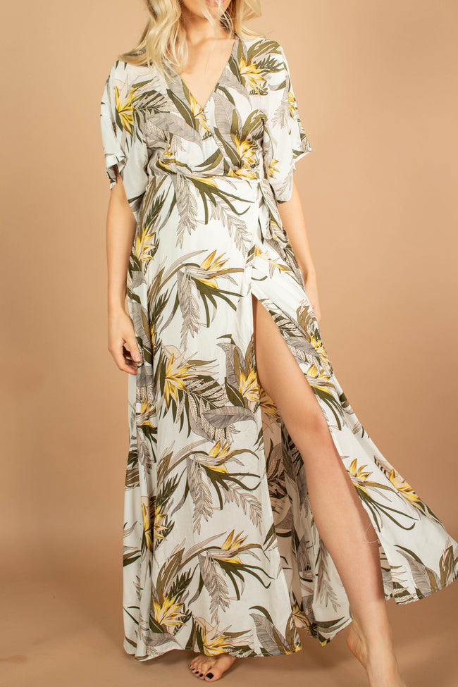 Tropical Vibes Maxi Dress