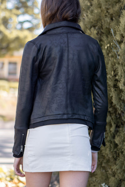 Soft Luxx Long Sleeve Biker Jacket