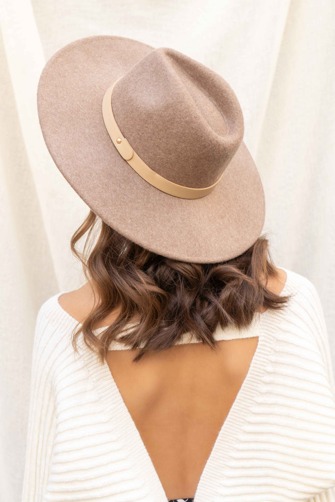 Arizona Flat Brim Wool Hat