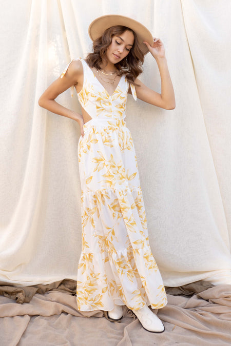 Dreamy Sunset Tiered Dress
