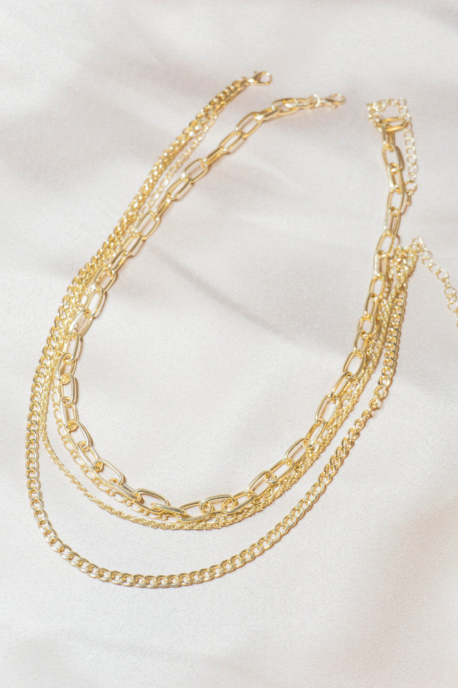 Multi Cable Chain Necklace