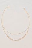 Two Lane Oval Necklace