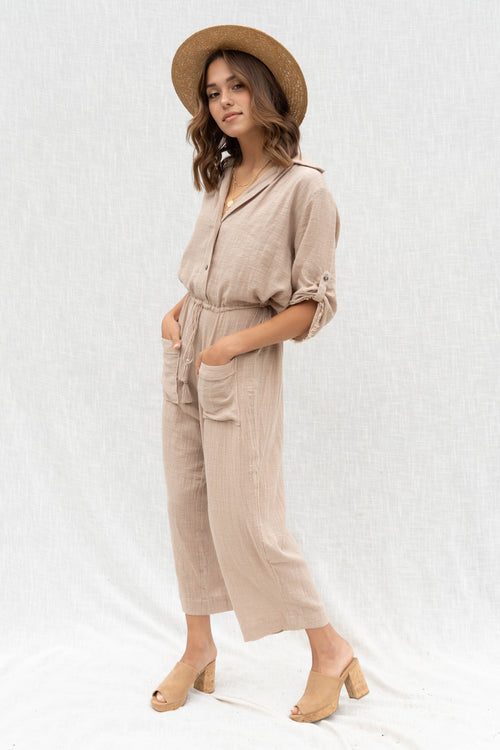 Effortless Bohemian Jumpsuit
