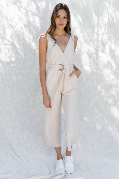 Wendy Tie Sleeve Jumpsuit