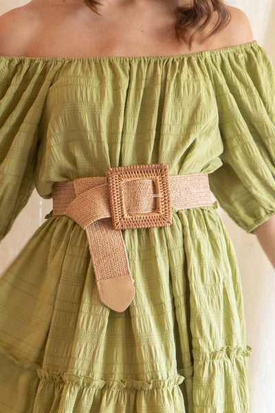 Summer Square Cinch Belt