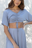 Wfh Top And Skirt Set