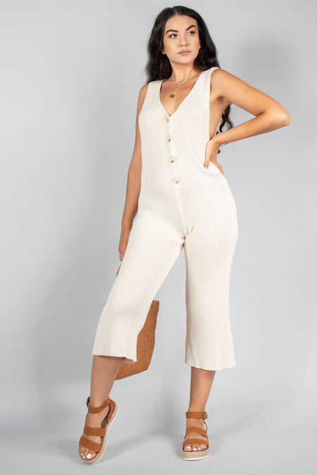 Cassidy Strapless Pocket Jumpsuit