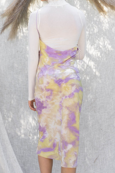 Love Me Tie Dye Slip Dress