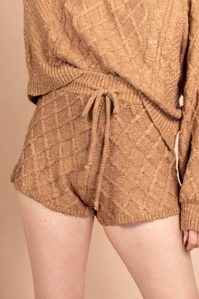 Jamie Knit Drawstring Shorts