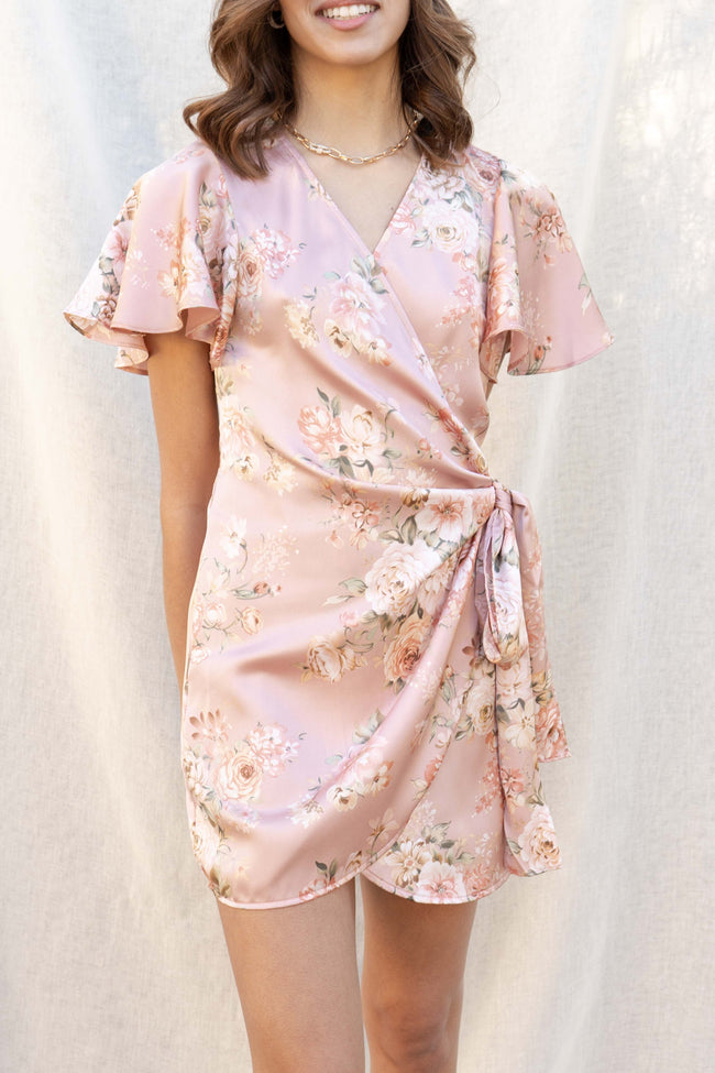 Girly Girl Wrap Dress