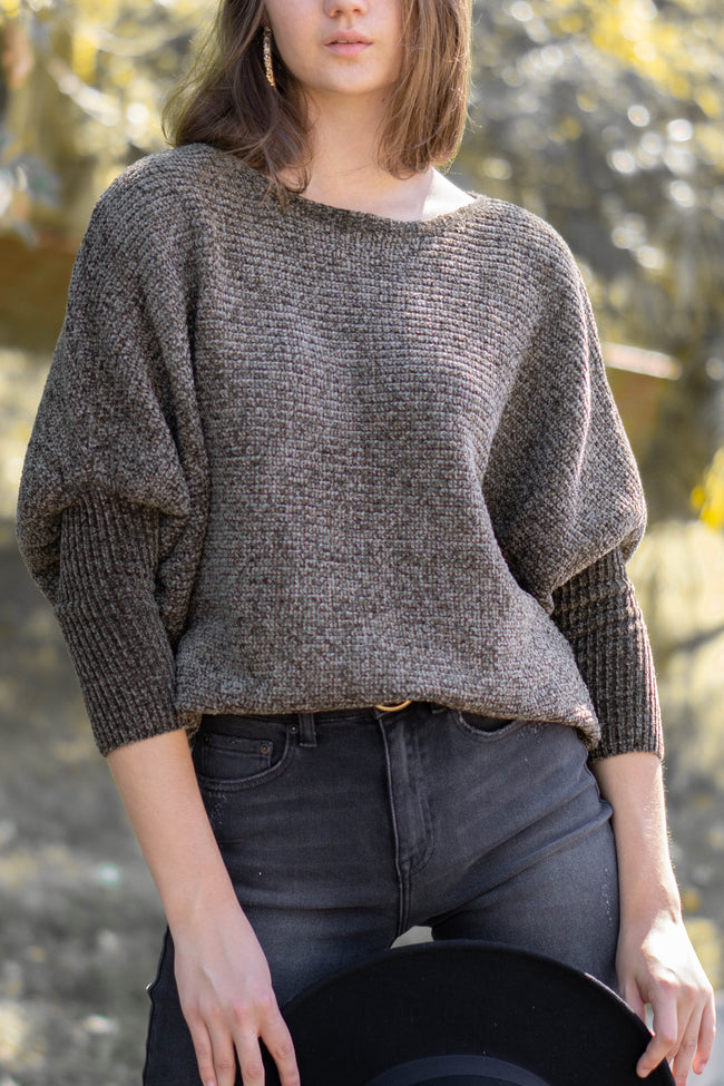 Coziest Nights Sweater Top