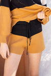 Lina Color Block Shorts