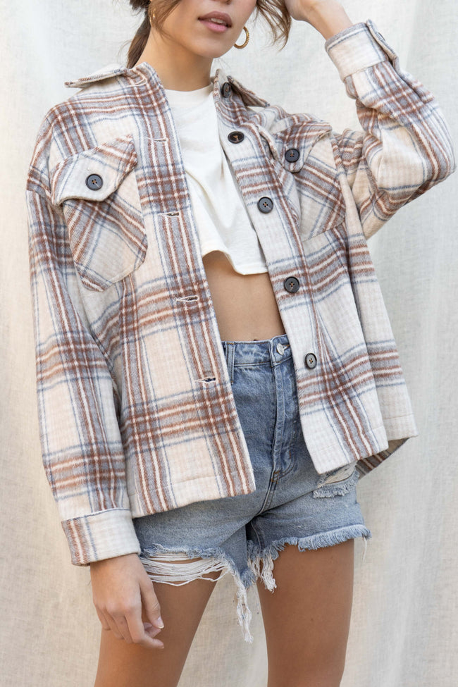 Brianna Plaid Shacket