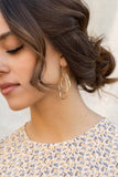 Layered Open Earrings