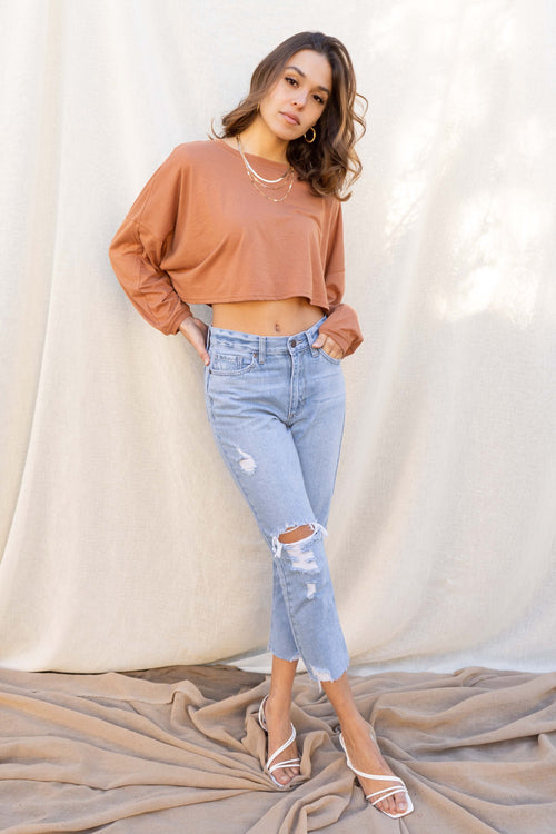 Paige Cropped Sweater