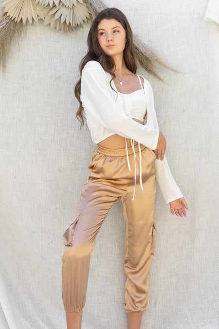 Simple Casual Knit Pants
