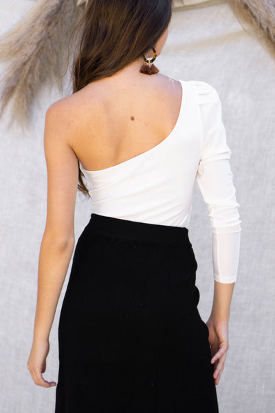 Gemma One Shoulder Bodysuit