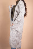 Chunky Knit Long Cardigan