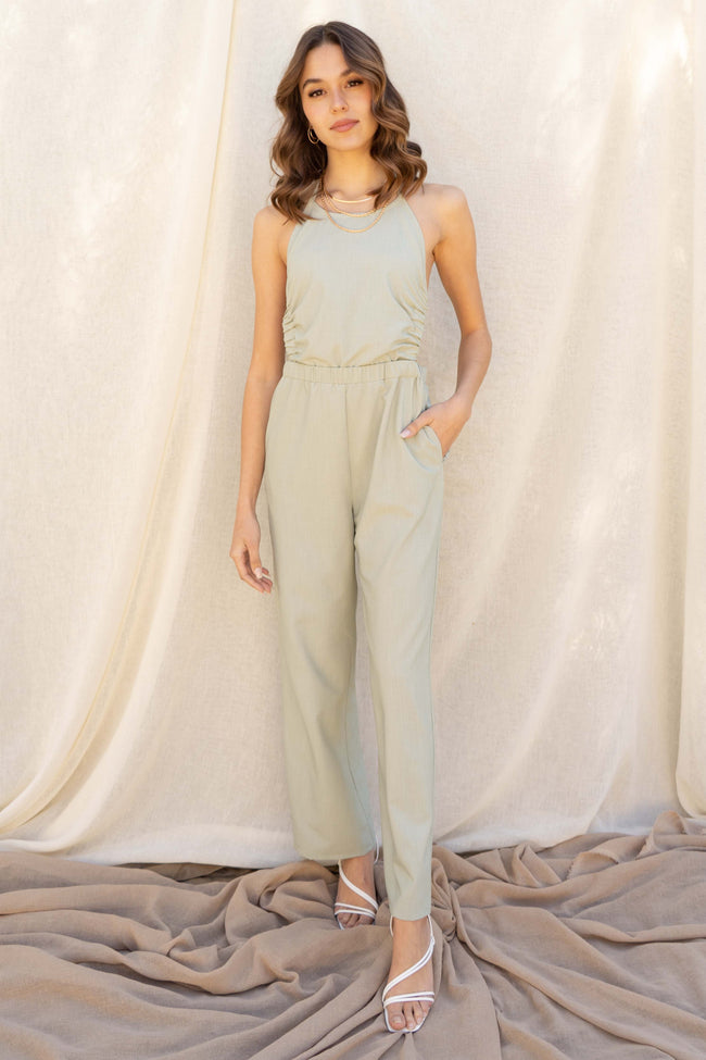 Staycation Open Back Jumpsuit